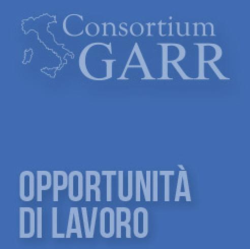 Il GARR cerca 8 professionisti