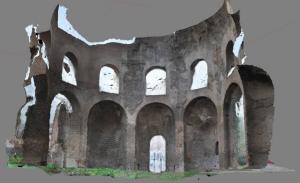 Tempio di Minerva Medica in 3D, Roma